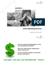 PT - Direct Marketing Services