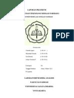 P1 (Studi Preformulasi)