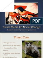 Social media for social change in the Philippines
