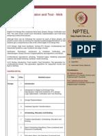 (IIT Guwahati) VLSI Design Verification and Test