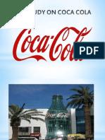 Case Study on Coca Cola