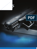 2013 Walther Arms Handgun Catalog