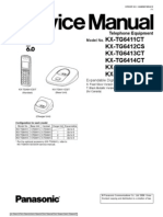 Panasonic Kx-tg6411 [ET] Service Manual