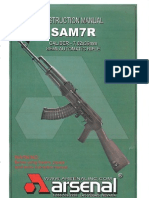 Arsenal SAM7R Instruction Manual
