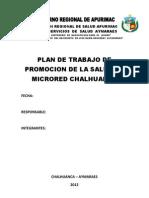 Plan de Promocion de La Salud de Chalhuanca