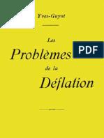 Yves_Guyot Les_problèmes_de_la_déflation__1923
