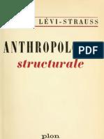 lévi-strauss - 1962 - anthropologie structurale (plon).pdf