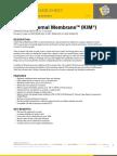 Technical Data Sheet Krystol Internal Membrane KIM