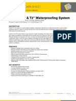 Technical Data Sheet Krystol T1 T2