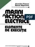 Al Fransua , R Magureanu - Masini Si Actionari Electrice 1986 LowInk