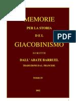 Barruel Memorie Tomo IV