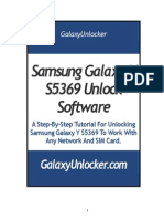 GalaxyUnlocker.com Samsung Galaxy Y S5369 Unlock Instructions