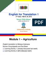 Translation 1 Class 2
