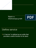 Service Gap ppt