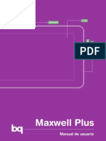 Manual Bq Maxwell Plus Es