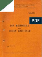Din Memoriile Lui Eugen Cristescu
