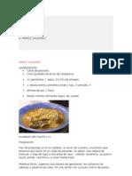 Recetas Cocina Internet y Revistas
