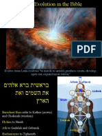 Cosmic Evolution in the Bible
