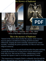 Moses the Mystery of Baphomet