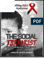 THE SOCIAL TERRORIST, …The Day AIDS Became a Global Threat! A novel by Joseph P. Chaddock,