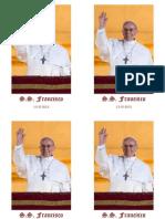 Estampa Papa Francisco