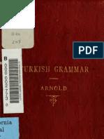 Arnold Turkish Grammar(1877-London)(2.522KB)