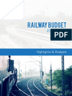 Railway Budget Analyssis