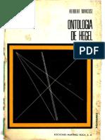 Marcuse-Ontologia de Hegel