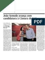João Semedo avança com candidatura à Câmara de Lisboa