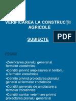 agricole SUBIECTE
