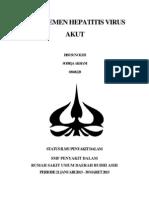 Referat Manajemen Hepatitis Virus Akut (Autosaved)