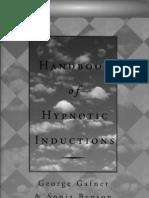Hypnosis Handbook of Hypnotic Inductions