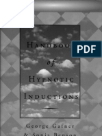 Hypnosis Handbook of Hypnotic Inductions