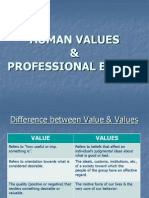 Human Values & Professional Ethics