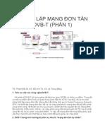 THIẾT LẬP MẠNG ĐƠN TẦN DVB-T (PHẦN 1)