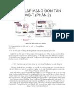 THIẾT LẬP MẠNG ĐƠN TẦN DVB-T (PHẦN 2)