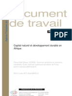 Capital Naturel - DD Afrique