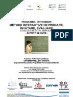 Suport de Curs Metode Interactive