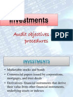 Audit of investments
