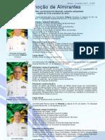 Promoção de Almirantes - Novembro de 2011
