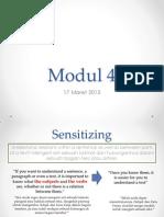 Modul 4 MKDU 4107 Bahasa Inggris I