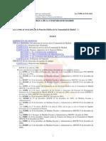 05 Ley Función Pública Comunidad de Madrid