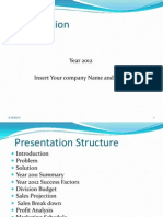 Business Plan(2012) Sample