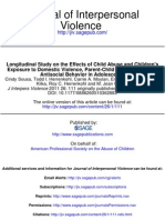 111.fullLongitudinal Study on the Effects of Child Abuse and Children's Exposure to Domestic Violence, Parent-Child Attachments, and Antisocial Behavior in Adolescence