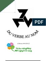 [Tự học tiếng Pháp - Mỗi ngày 5 từ vựng] LA NOMINALISATION VERBALE