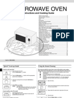 Samsung Oven CE107BA XSP-03486Q En