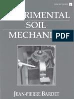 Experimental Soil Mechanics - Jean-Pierre Bardet