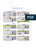Calendario Escolar 20122013 Con Viernes Lectivos para Castilla y León