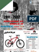 Bicicletas Bronco 2011