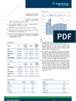 Derivatives Report, 15 March 2013